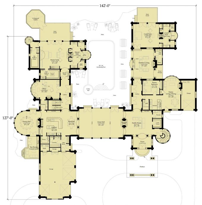 Windsor castle floor plan picture for Castle home floor plans