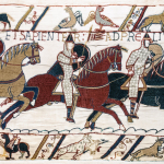 Bayeux-Tapestry-Scene-51-Battle-of-Hastings-1066