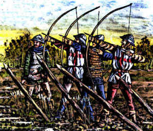 English longbowmen Battle of Agincourt