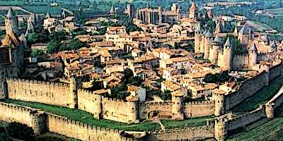Carcassonne French Medieval City