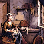 Medieval Peasants Scullery Maid