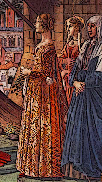 Medieval Fashion in the 14th Century Picture